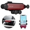 Support Voiture Universel Gravity pour Smartphone - Rouge