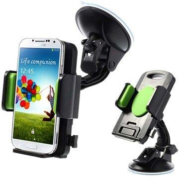 support voiture universel pour smartphone tablette vert noir. Black Bedroom Furniture Sets. Home Design Ideas