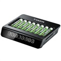 Chargeur de Piles Varta LCD Multi Charger+ 57681 - 8x AAA/AA