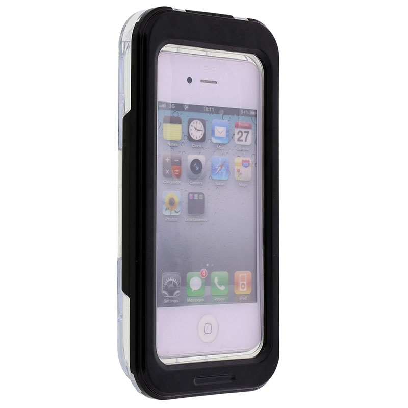 Waterproof Case for iPhone 4 4S Black 27082015 01 p