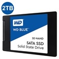 "Disque Dur SSD WD Blue 3D NAND SATA WDS200T2B0A - 2.5"" - 2To"