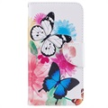 Etui portefeuille Wonder Series pour Samsung Galaxy Xcover 4s, Galaxy Xcover 4 - Papillons