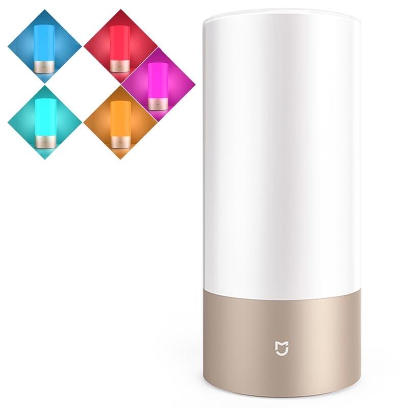 Lampe De Chevet Xiaomi Mi Smart Mue4063gl Bluetooth Et Wi Fi Or