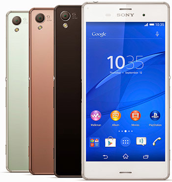 Accessoires Sony Xperia Z3