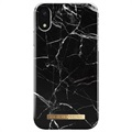 Coque iPhone XR iDeal of Sweden Fashion - Marbre Noir