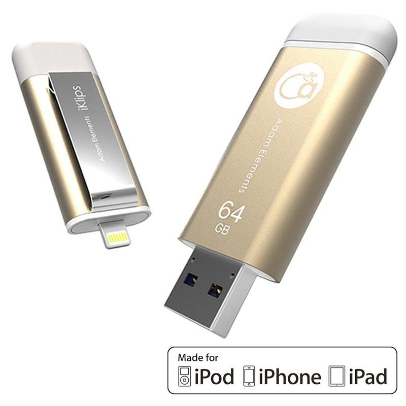cl 64go lightning usb 3 0 iklips iphone ipad ipod. Black Bedroom Furniture Sets. Home Design Ideas