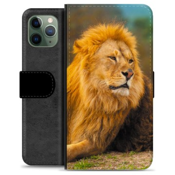 Étui Portefeuille Premium iPhone 11 Pro - Lion