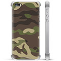 Coque Hybride iPhone 5/5S/SE - Camouflage