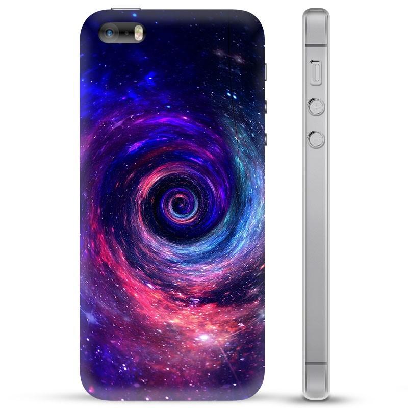 Coque iPhone 5/5S/SE en TPU - Galaxie