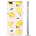 Coque iPhone 5/5S/SE en TPU - Motif Citron