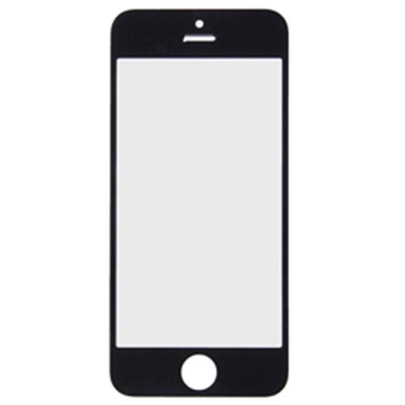 vitre d 39 ecran pour iphone 5 noire. Black Bedroom Furniture Sets. Home Design Ideas