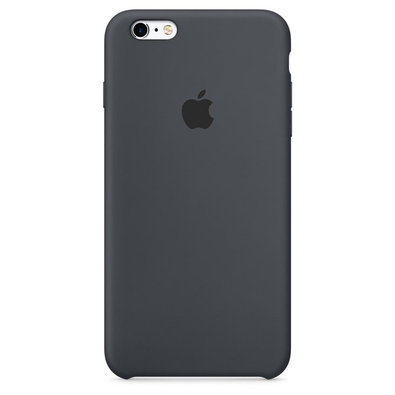 coque en silicone apple mky02zm a pour iphone 6 6s gris anthracite. Black Bedroom Furniture Sets. Home Design Ideas