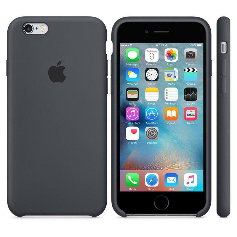 coque iphone 6 silicone gris