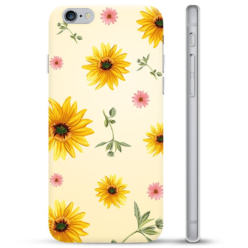 iPhone 6 6S TPU Case Sunflower 19062020 01 p