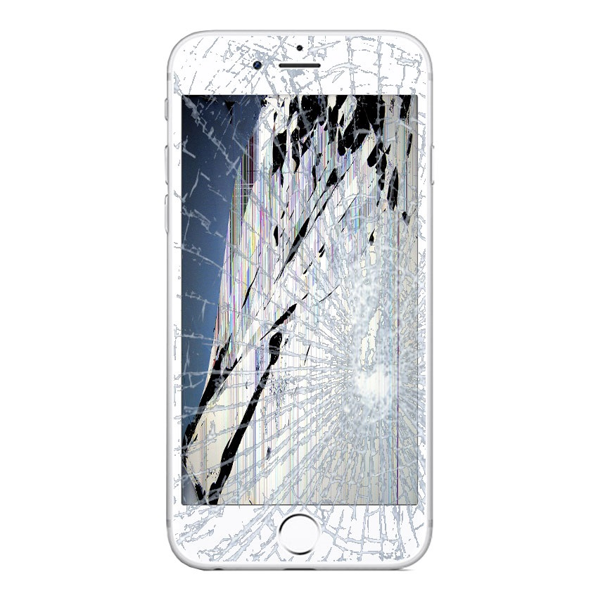 iPhone 6S Plus LCD and Touch Screen Reparation White 17122015 1 p