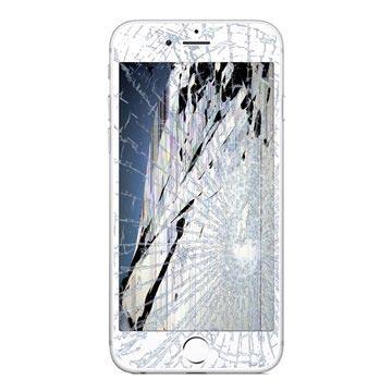 r paration ecran lcd et ecran tactile iphone 6s plus blanc grade a. Black Bedroom Furniture Sets. Home Design Ideas