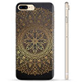 Coque iPhone 7 Plus / iPhone 8 Plus en TPU - Mandala