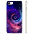 Coque iPhone 7/8/SE (2020) en TPU - Galaxie
