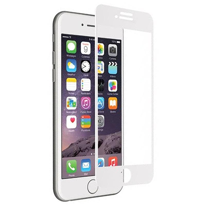 protecteur d 39 cran en verre tremp cygnett realcurve 9h pour iphone 7 plus blanc. Black Bedroom Furniture Sets. Home Design Ideas