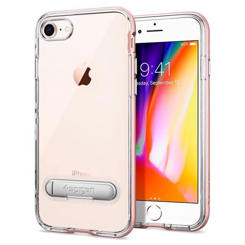 coque iphone 8 or rose