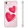 Coque Hybride iPhone 7 / iPhone 8 - Amour
