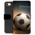 Étui Portefeuille Premium iPhone 7 / iPhone 8 - Football