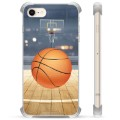 Coque Hybride iPhone 7 / iPhone 8 - Basket-ball