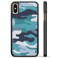 Coque de Protection iPhone X / iPhone XS - Camouflage Bleu