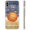 Coque iPhone X / iPhone XS en TPU - Basket-ball