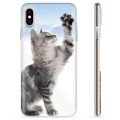 Coque iPhone X / iPhone XS en TPU - Chat