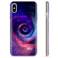 Coque iPhone X / iPhone XS en TPU - Galaxie