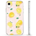Coque Hybride iPhone XR - Motif Citron