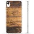 Coque iPhone XR en TPU - Bois