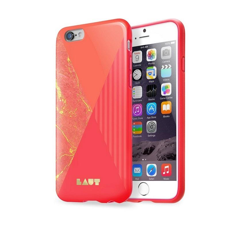 coque en tpu laut huex pop pour iphone 6 6s rouge. Black Bedroom Furniture Sets. Home Design Ideas