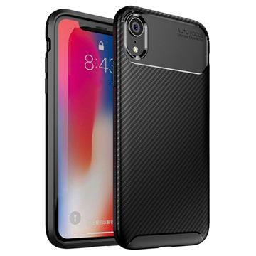 coque iphone xr fibre de carbone