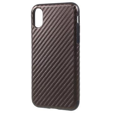 coque fibre de carbone iphone x