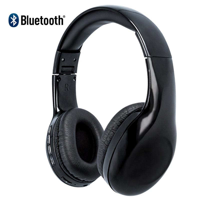 Casque Stéréo Bluetooth Forever Bhs 200 Noir