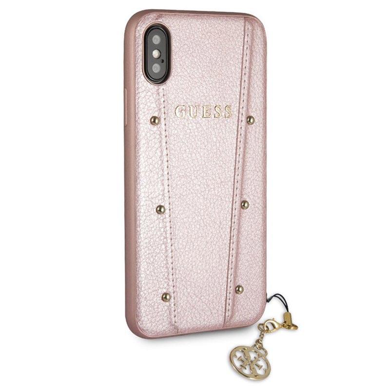 iphone x coque rose