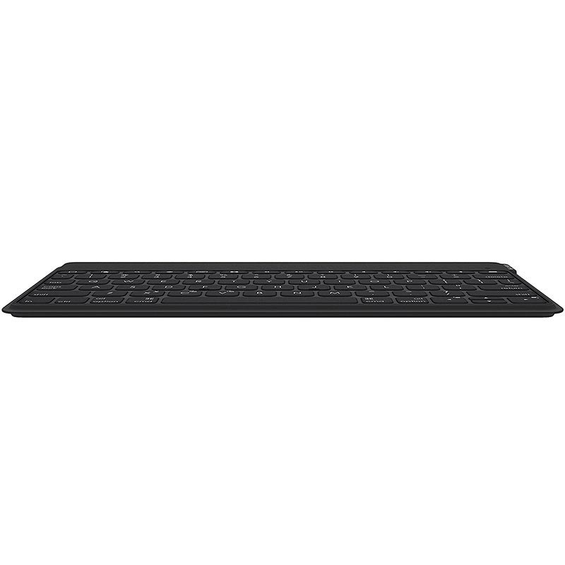 Clavier Bluetooth Logitech Keys-To-Go pour iOS - Disposition Nordique - Noir