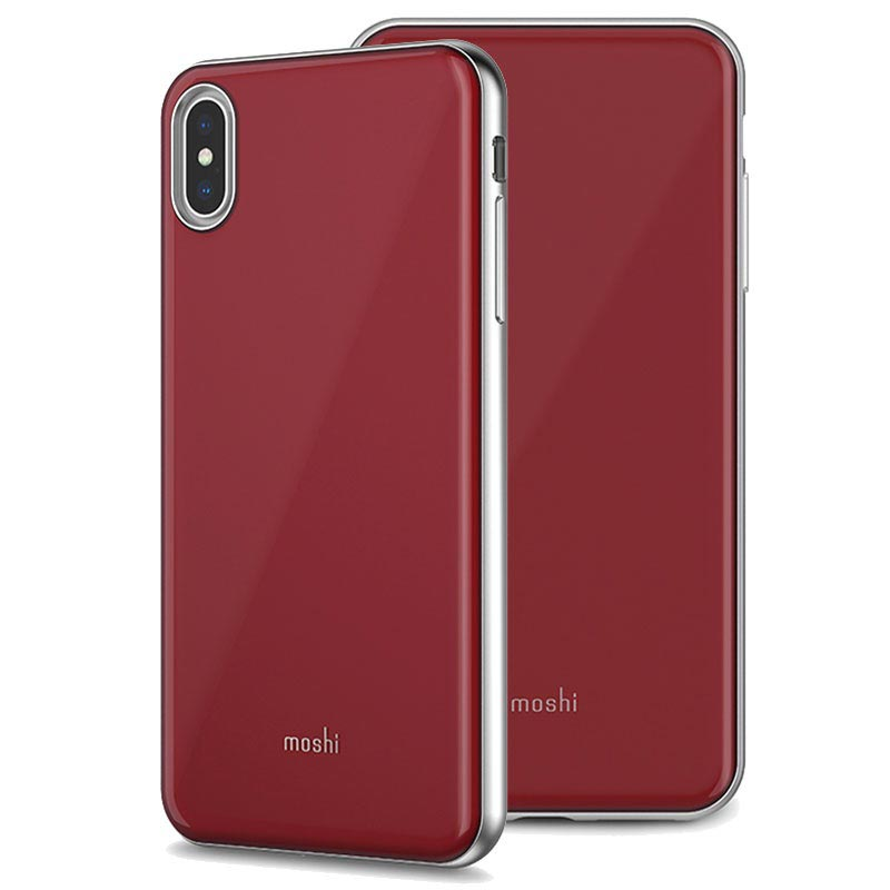 Moshi iGlaze Case for iPhone XS Max Red 4713057256134 02102018 01 p
