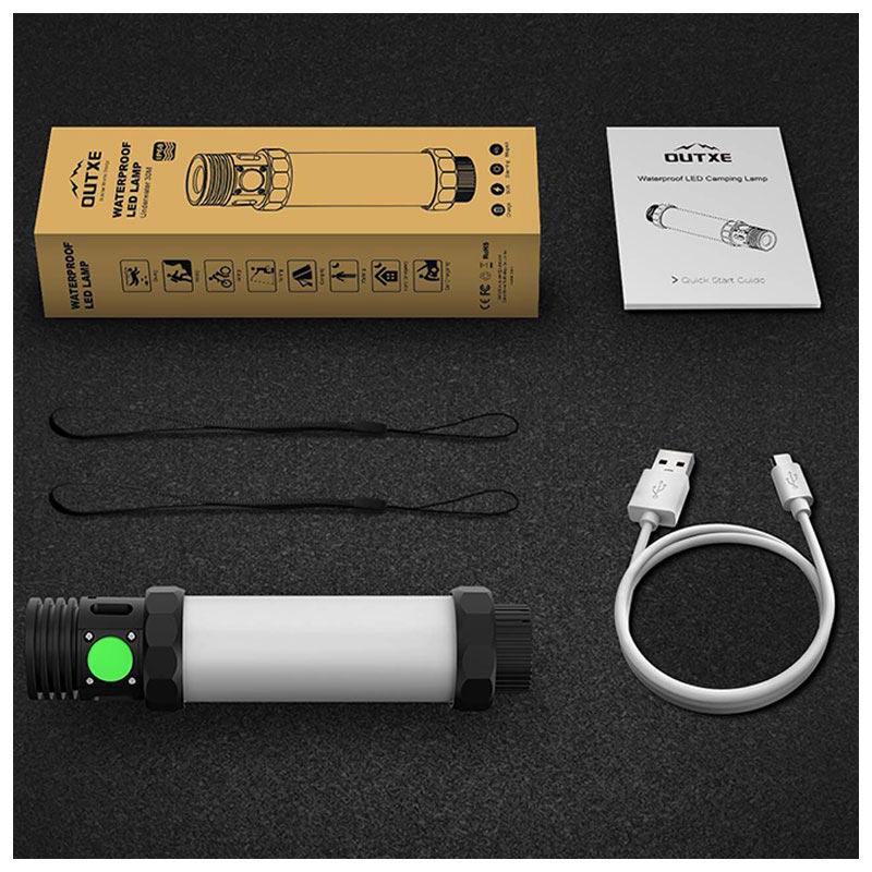 Étanche 2600mah 1 3 Batterie Led Outxe Externe Lampe En Ip68 IDHWE29