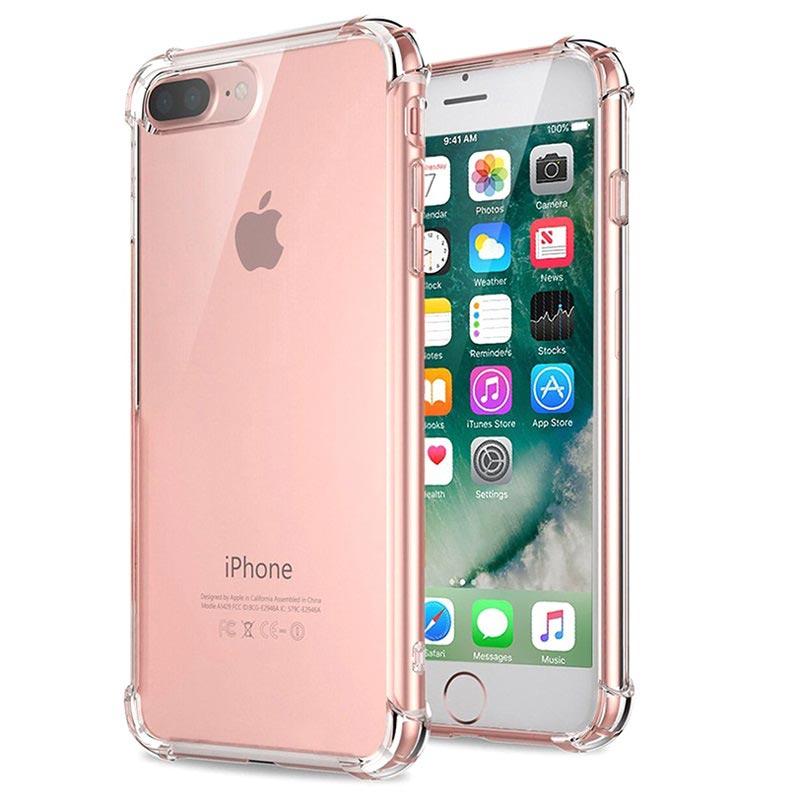 Scratch Resistant Hybrid Crystal Case for iPhone 7 8 Plus Transparent 05062018 01 p