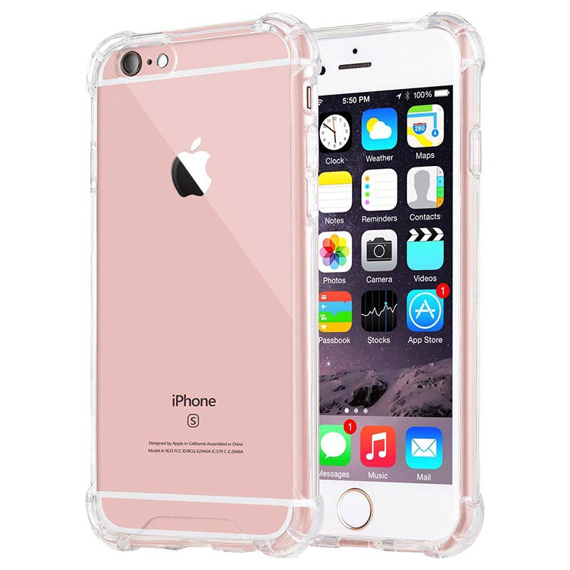 Coque Hybride iPhone 6 Plus/6S Plus Résistante aux Rayures - Cristalline
