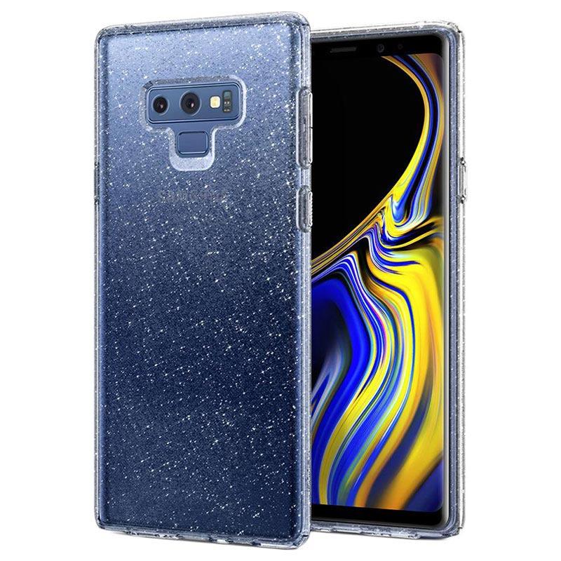 Coque Samsung Galaxy Note9 Spigen Liquid Crystal Glitter - Transparente