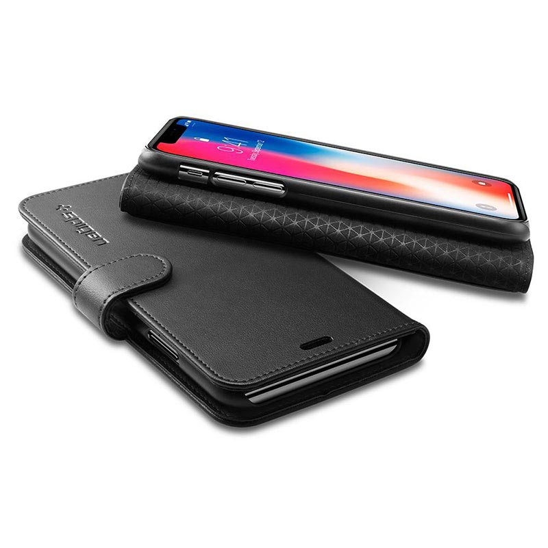 coque spigen iphone x portefeuille