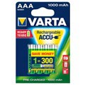 Piles Rechargeables AAA Varta Ready2Use - 1000mAh