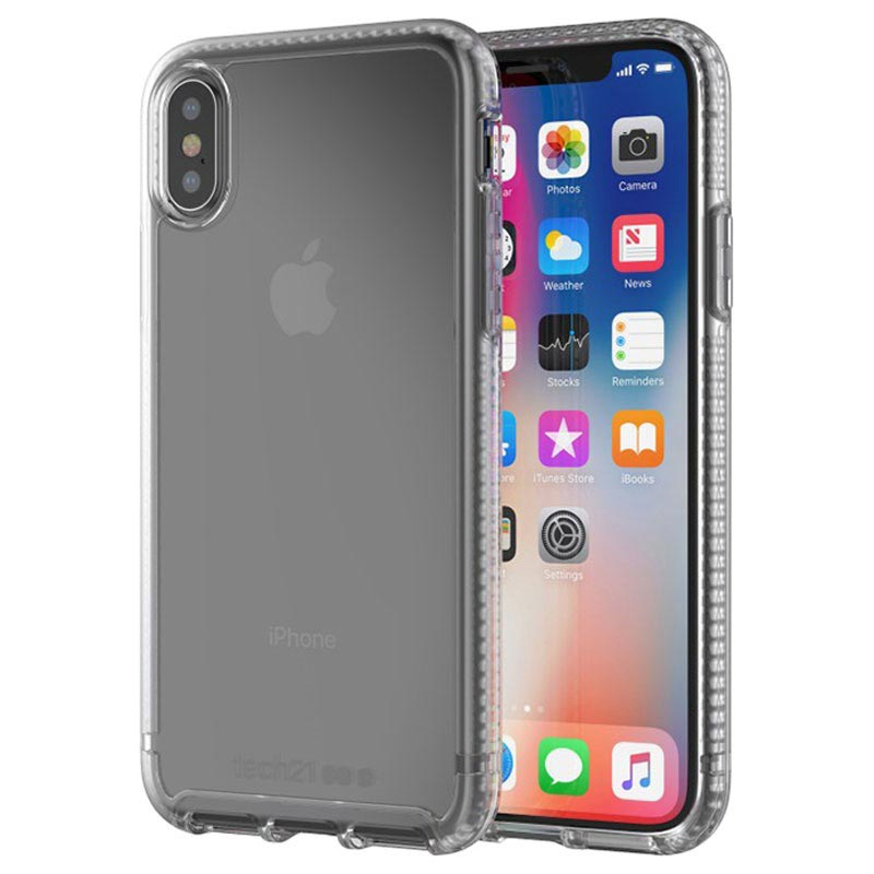 coque pure clear de tech21 pour iphone xs
