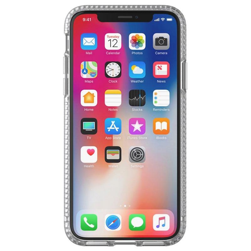 coque pure clear de tech21 pour iphone x